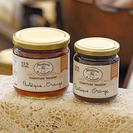 Confitures au miel