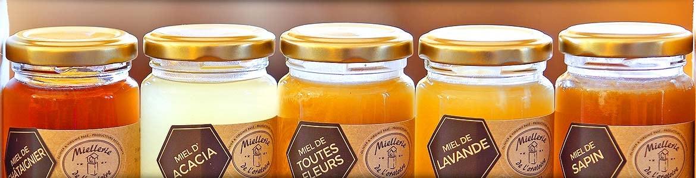 Assortiments de miels