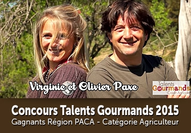 Concours Talents Gourmands 2015